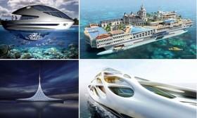 Футуристички концепти: Суперјахти од иднината!