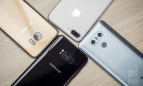Фото битка: Samsung Galaxy S8 Plus vs iPhone 7 Plus, Galaxy S7 edge, LG G6