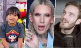 Најплатени јутјубери во светот: PewDiePie не е ниту меѓу првите пет