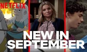 Нови серии и филмови на Netflix во септември!
