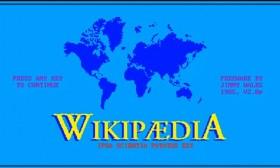 Како би изгледала Wikipedia во 80-тите години?