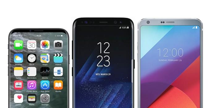 Како би изгледал iPhone 8 до Galaxy S8 и LG G6