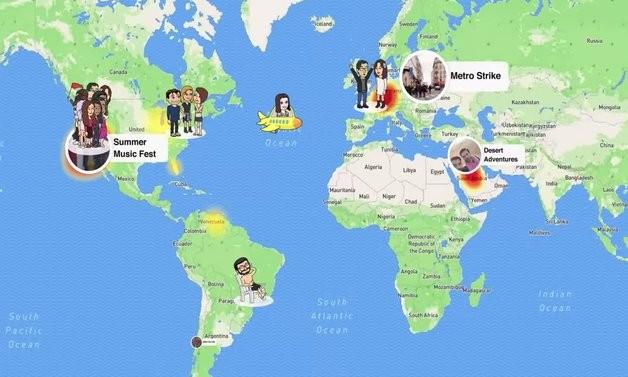 Snapchat  Со Snap Map лоцирајте ги вашите пријатели каде се и што прават во секое време