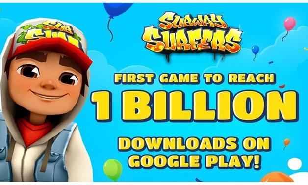 Subway Surfers  Првата игра во светот со повеќе од 1 милијарда симнувања од Play Store