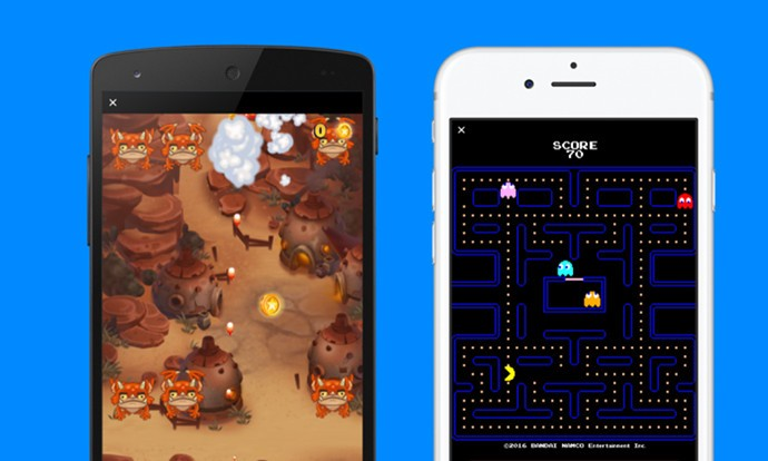 Instant Games: Pac-Man, Space Invaders и други класици отсега на Facebook Messenger