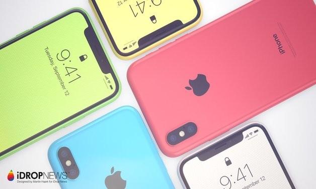 Концепт на iPhone Xc  Поевтината  пластична верзија на iPhone X