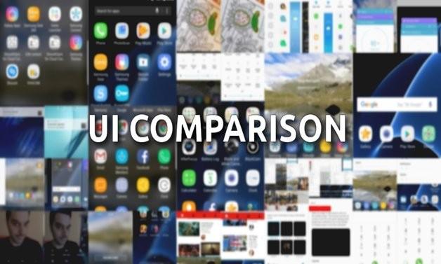 Galaxy S8 Plus vs Galaxy S7 edge  Споредба на интерфејсот