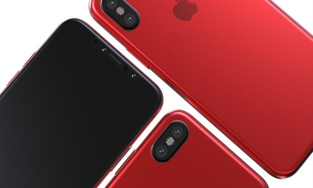 Apple ќе претстави црвен iPhone 8
