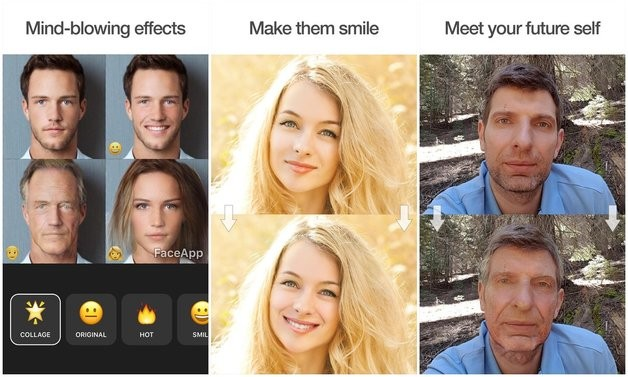 FaceApp  Апликација која ќе ве насмее или исплаши