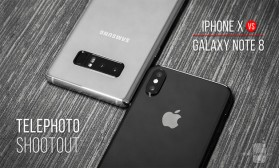 Фото битка: iPhone X vs Galaxy Note 8