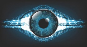 Кибер окото функционира исто како човечкото око