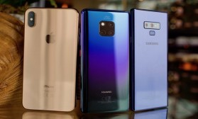Фото битка: Huawei Mate 20 Pro vs iPhone XS Max vs Galaxy Note 9